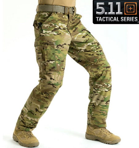 5.11 Tactical MultiCam TDU® Field Duty Work Cargo Pants - Mens Camouflage Pant