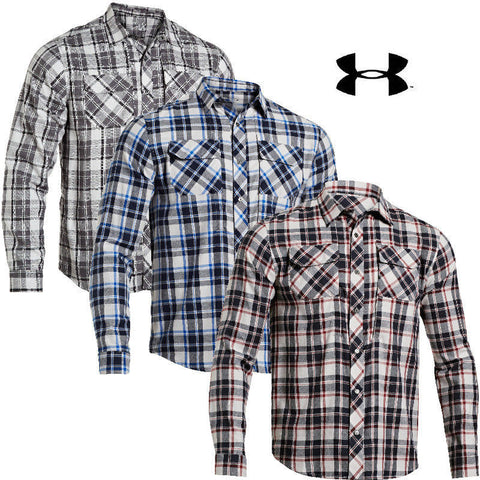 Under Armour Mens SOAS Covert Tactical Long Sleeve Shirt - UA Lightweight Shirts