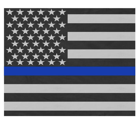 The Thin Blue Line Bandana - Extra Large 27
