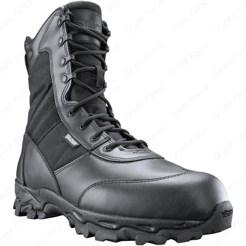 BLACKHAWK! Force Men's Black Tactical Boots - Work & Field Ops High Top Boots