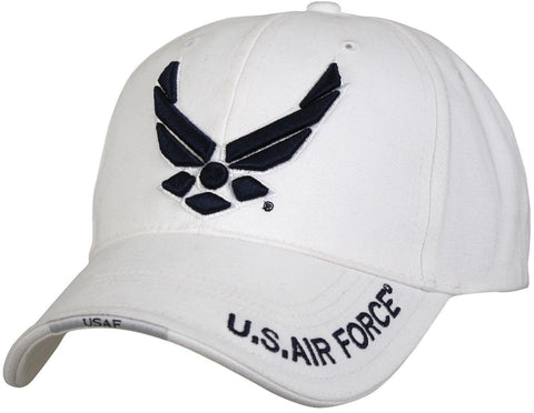 "White Deluxe ""New Wing Air Force"" -  Baseball Cap"