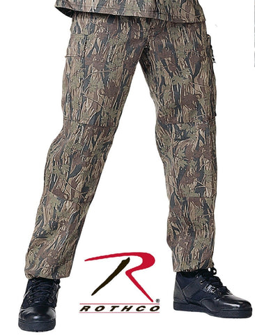 Mens Smokey Branch Camouflage Military Style BDU Cargo Pants - Rothco 8855