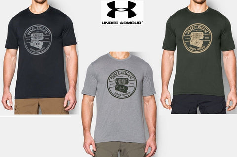 Under Armour WWP Dog Tag T-Shirt - UA Wounded Warrior Honor & Empower Tee Shirt