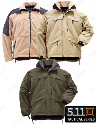 5.11 Tactical Aggressor Parka - Mens CCW Concealed Carry Fleece Lined Jacket