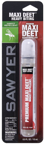 Sawyer Travel-Size Maxi Deet Heavy Biting Insect & Bug 10 Hour Repellent Spray