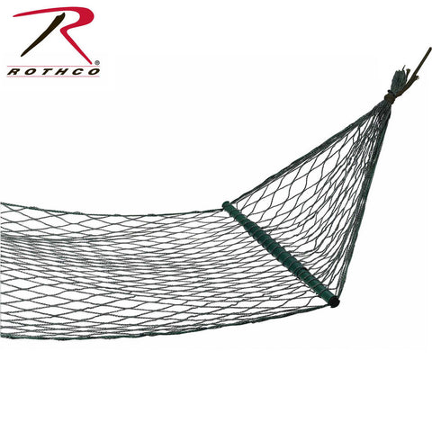 "Rothco 94""x42"" Olive Drab Mini Hammock 300Lb Capacity - Includes Mesh Carry Sack"