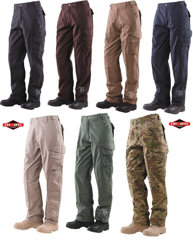 Tru-Spec 24-7 Series Tactical Pants - Men's Field-Duty Teflon Coated Cargo Pants