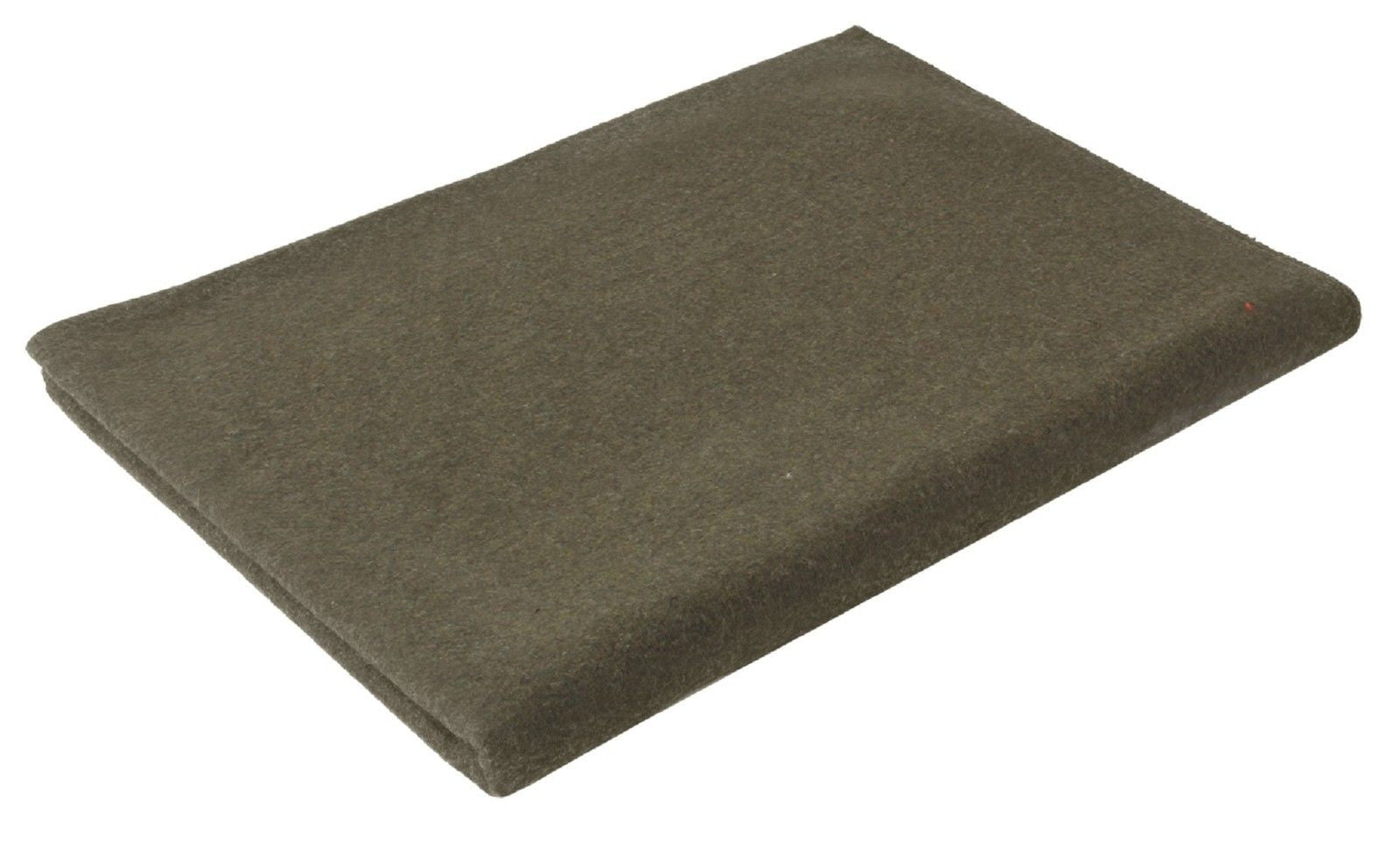 """Grey Wool Survival Emergency Rescue Blanket 60/"""" x 80/"""" Rothco"""