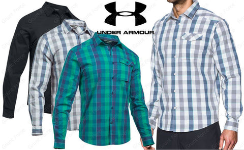 Under Armour Men's Tactical Long Sleeve Shirt - UA Tactical Button Down