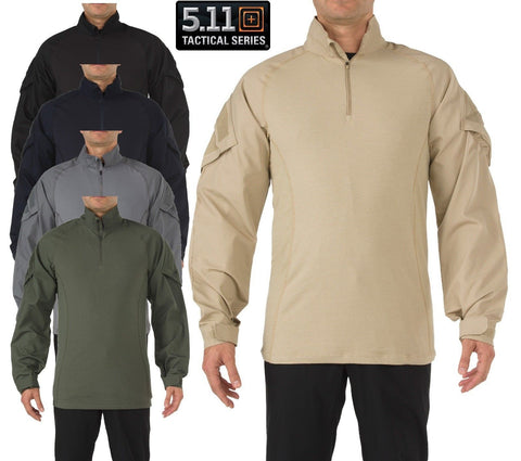 5.11 Tactical Rapid Assault Tactical Shirt - Mens Field Duty Work Combat Shirts