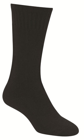 "Propper Premium 11"" Black Boot Sock - Shin Padded Endurance Boot Sock"