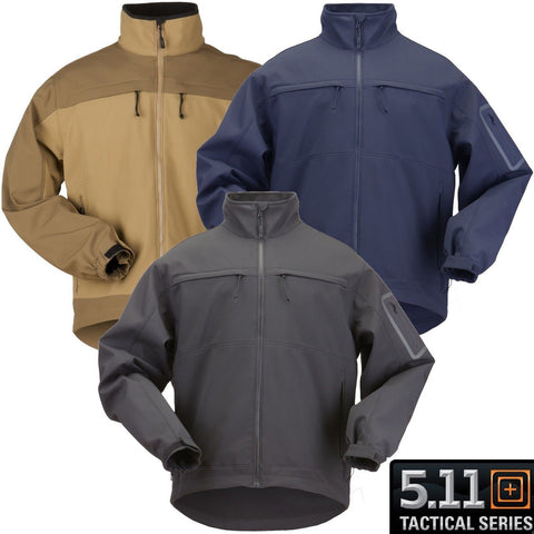 5.11 Tactical Chameleon Softshell Jacket Mens Low Profile High Performance Coat