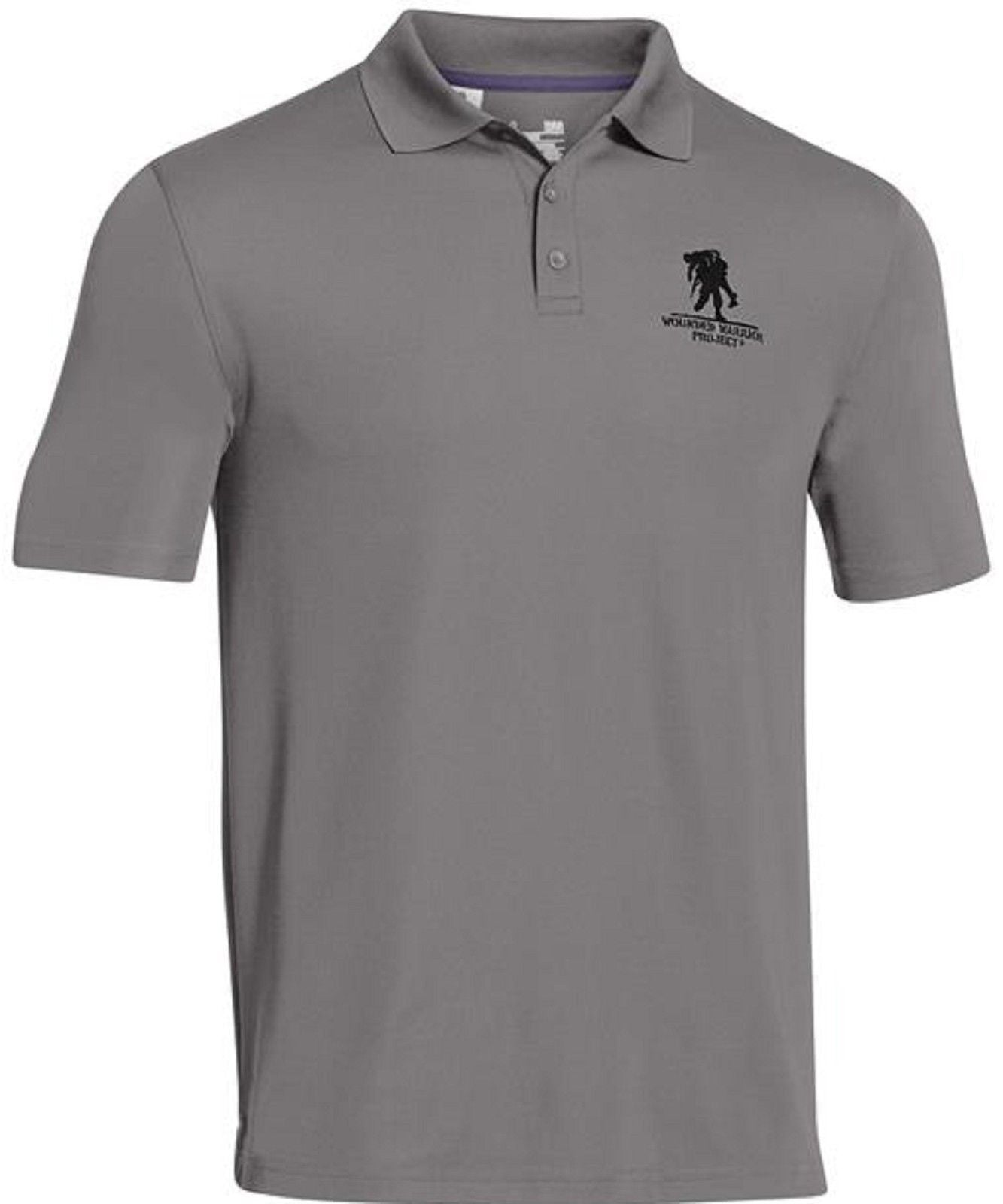 9282e0ac Move your mouse over image or click to enlarge. Under Armour Performance  Polo Shirt Wounded Warrior Project Collared ...