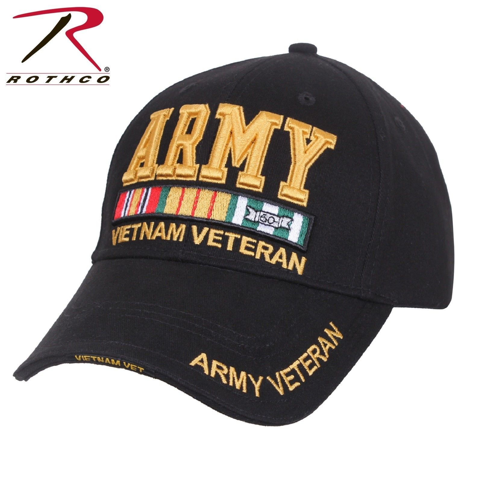 efd2fec42d1 ... Deluxe Low Pro Cap - Nam Veteran Army Baseball Hat. Zoom. Move your  mouse over image or click to enlarge