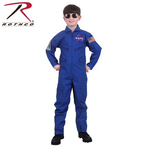 Kids NASA Flight Coveralls With Official NASA Patch - Rothco Kids Flight Suit