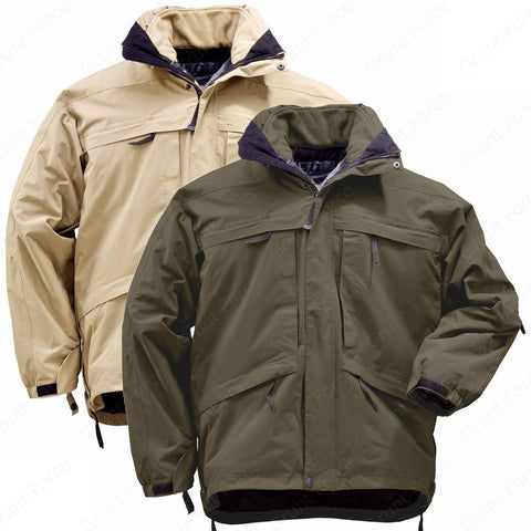 5.11 Tactical Aggressor Parka - Men's 5.11 Covert Jacket w/ Removable Liner