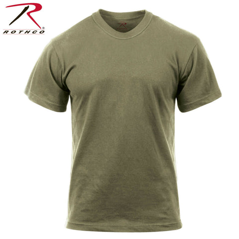 Rothco Military Style AR 670-1 Coyote Brown 100% Cotton T-Shirt