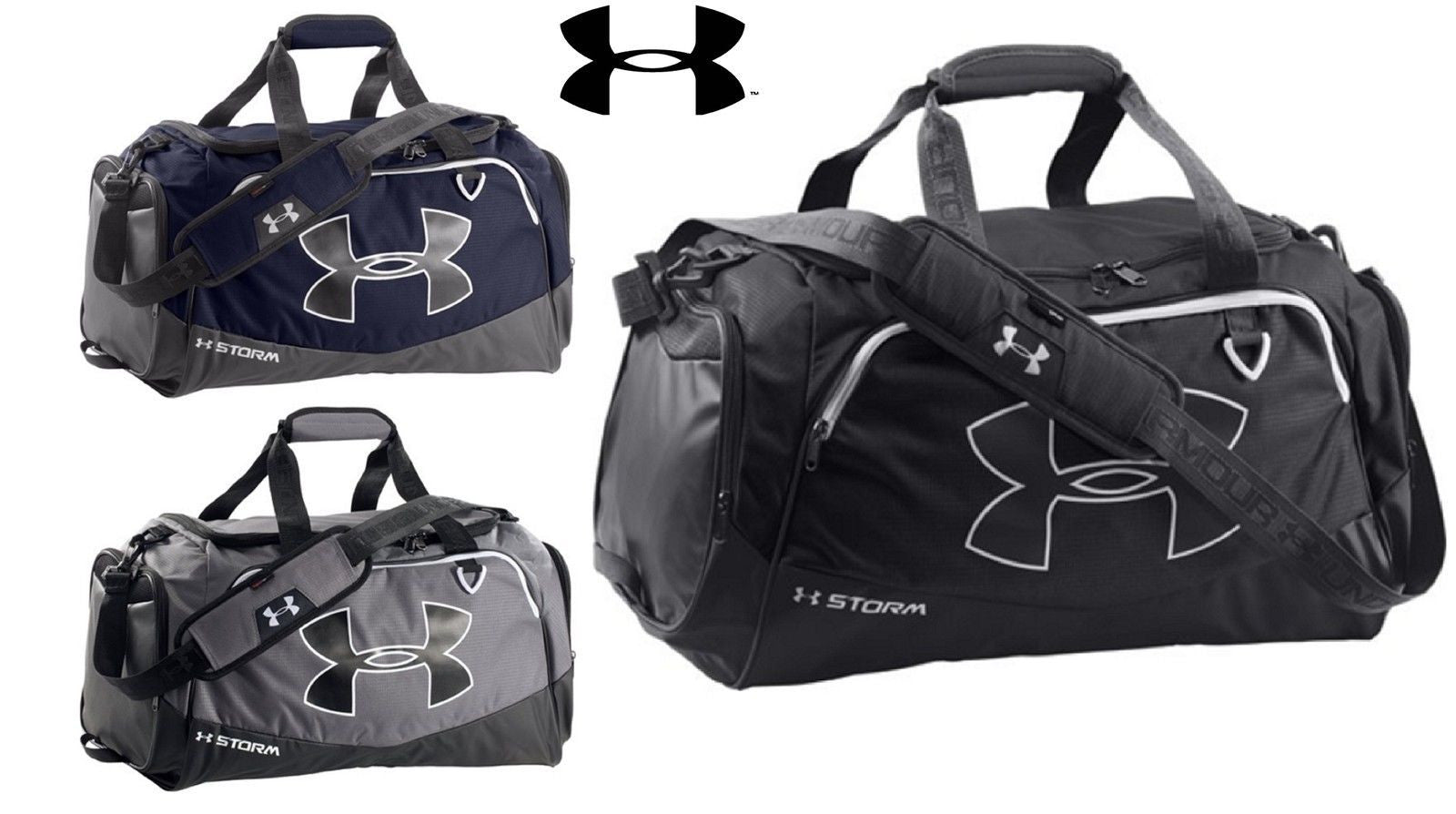 1a7da5269ad4 Under Armour Undeniable Storm Medium Duffle Bag - UA 25