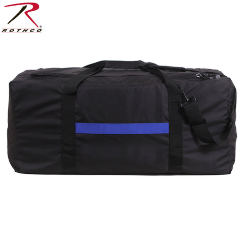 Rothco Thin Blue Line Modular Gear Bag - Oversized Gear Utility & Equipment Bag