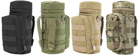 Condor Outdoor Water Bottle Hydration Pouch MOLLE Hunting Tactical H2O Pouches