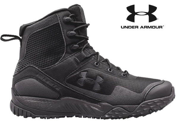 Under Armour Valsetz Rts Side Zip Tactical Boot Black Ua