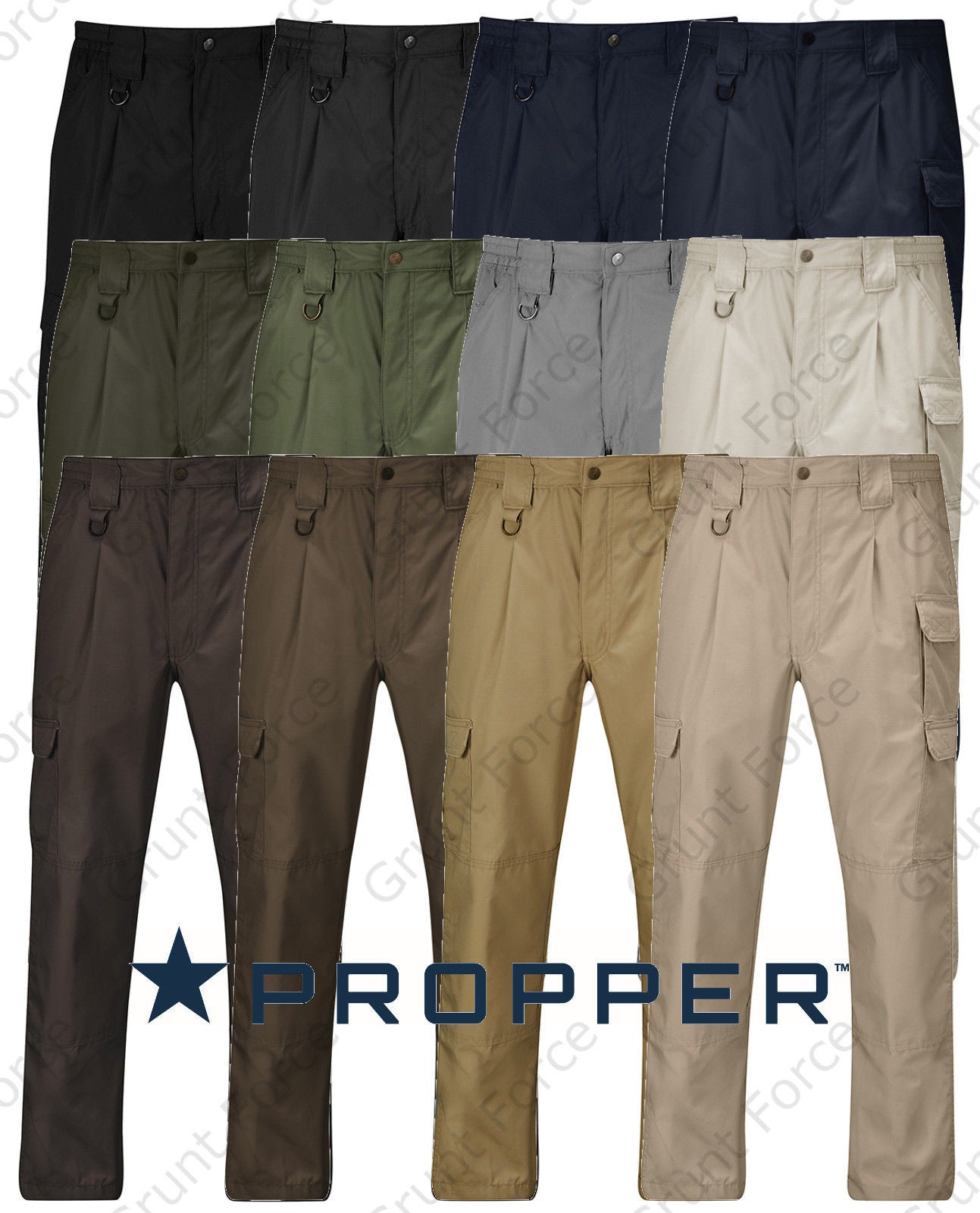e566d1ae Propper Big and Tall Tactical Pant - Lightweight Ripstop Uniform Plus Sizes.