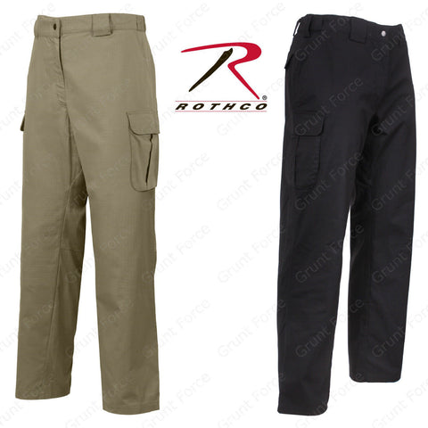 Rothco Tactical 10-8 Lightweight Field Pant - Black & Khaki Men's Duty Pants
