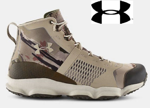 Mens Under Armour Ridge Reaper Barren Camouflage Speedfit Lightweight Hike Boot