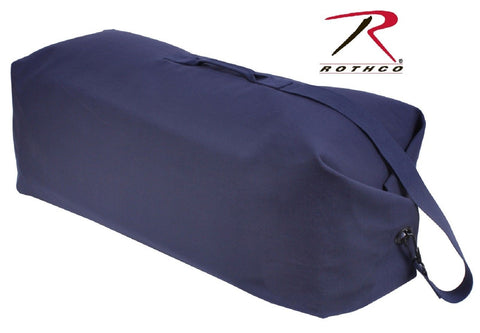 Navy Blue Heavyweight Top Load Duffle Bag - Rothco 42
