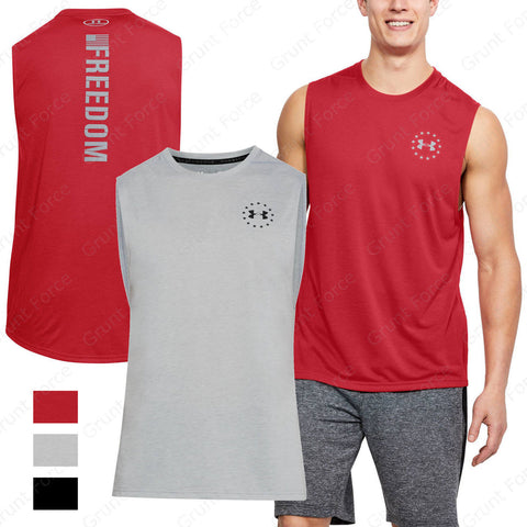 Men's Under Armour UA Freedom Muscle Tank Top