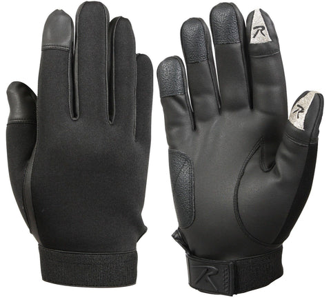 Rothco Touch Screen Neoprene Duty Gloves - Black