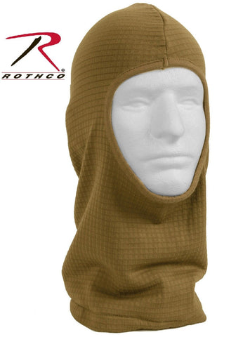 Rothco Military ECWCS Gen III Level 2 Coyote Brown Balaclava Head & Face Warmer