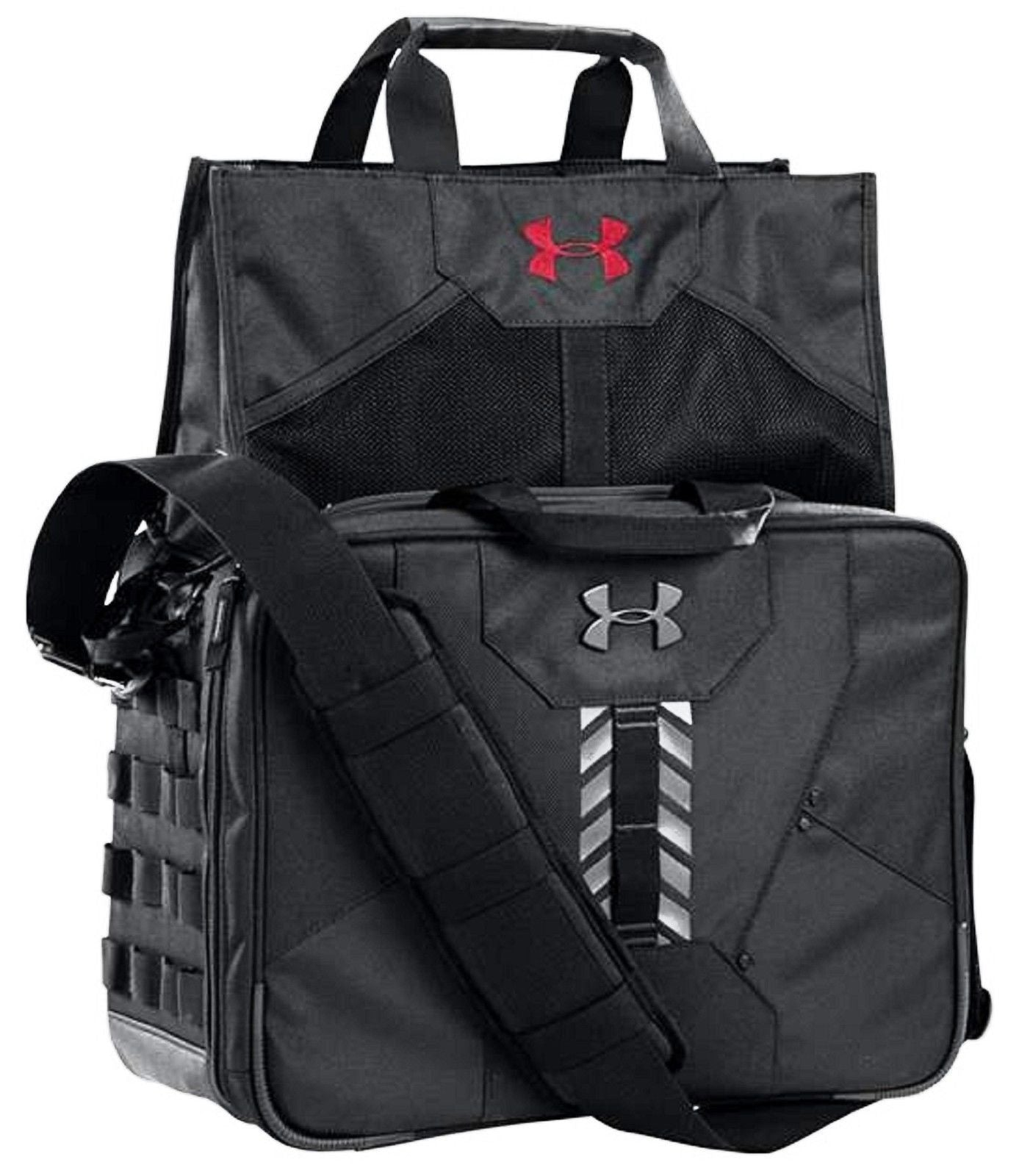 c1db12c2569 Under Armour Tactical Range & Field Bag - UA Black MOLLE Dropdown Bag  1242673