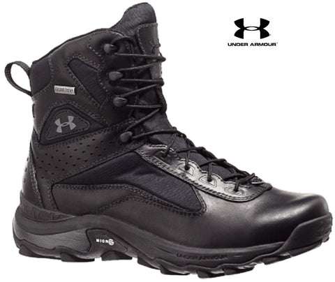 "Under Armour Speed Freek Military Tactical Boot - UA Black 7"" All Terrain Boots"