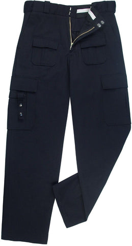 Midnight Blue EMT & Public Safety Police-Style Tactical Uniform Pants