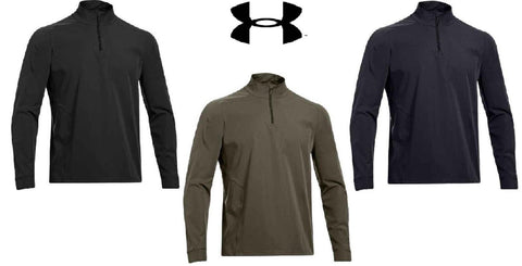 Under Armour 1/4-Zip Infrared Tactical Shirt -  UA Mens Lightweight ColdGear Top