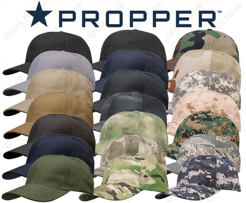 Propper® 6-Panel Adjustable Tactical Hat - Military Baseball Cap