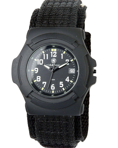 Black Smith & Wesson Professional Lawman Watch Rugged Mens Wristwatch Watches