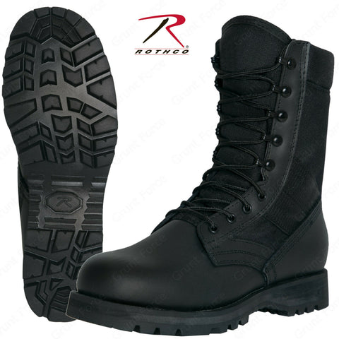 Rothco G.I. Type Sierra Sole Black Tactical Boots - Military Style Footwear