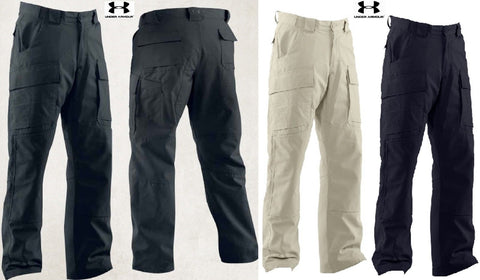 Under Armour Storm Tactical Duty Cargo Pants - UA Mens Loose Fit Reinforced Pant