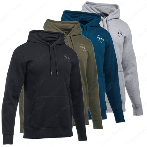 Under Armour Men's Sweatshirts - UA Freedom Flag Rival Tactical Hoodie