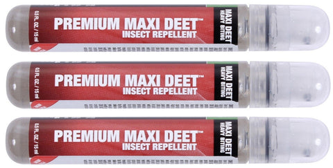 3 PACK Sawyer 10 Hour Maxi Deet Heavy Biting Insect & Bug Repellent Spray