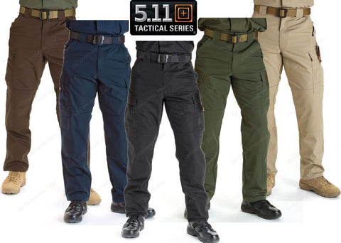 5.11 Tactical Mens Ripstop TDU Cargo Pants - Lightweight Field Duty Uniform Pant