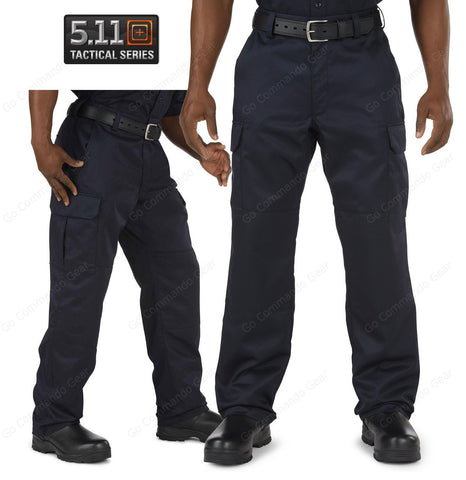 5.11 Tactical Navy Blue Fire Company Cargo Pants Mens Cotton Uniform Pant