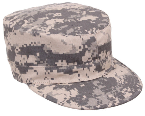 Kid's ACU Digital Camouflage Adjustable Military Fatigue Cap Boy's Cadet Hat NWT