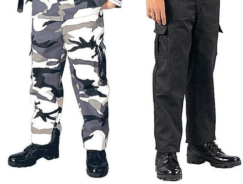 Kids Military Type BDU Pants - Childs Camouflage Uniform Army Pants