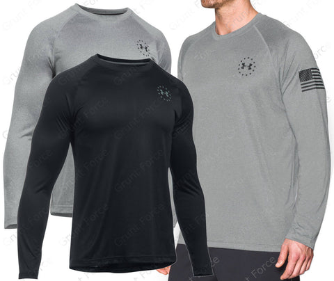 Under Armour Freedom Tech - UA  Long Sleeve Tactical Shirt