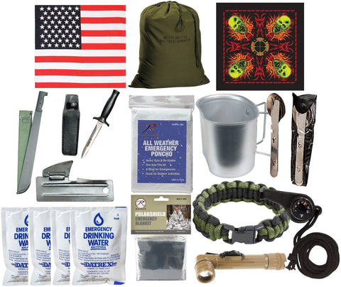 Zombie Apocalypse Disaster Kit - Emergency Preparedness Survival Walker Defense
