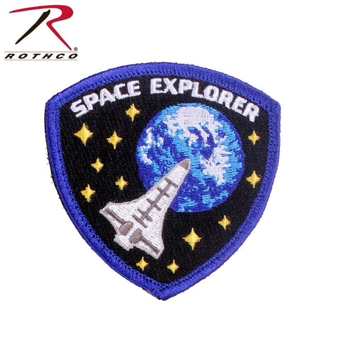 "Rothco Space Explorer Morale Patch - Hook & Loop Tactical Patch 3"" x 3-1/8"""