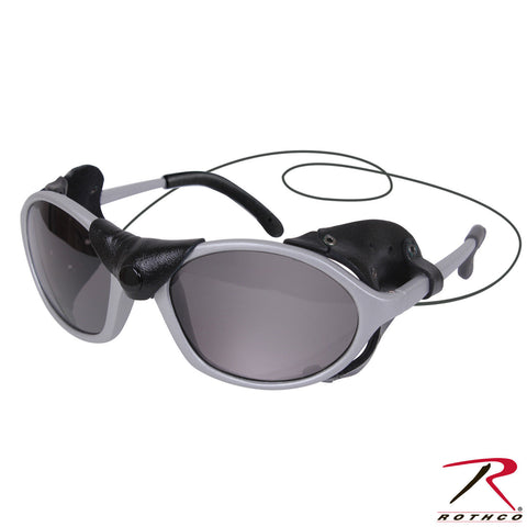 Rothco Tactical Sunglasses With Wind Guard - Removable Windshields & Nose Piece